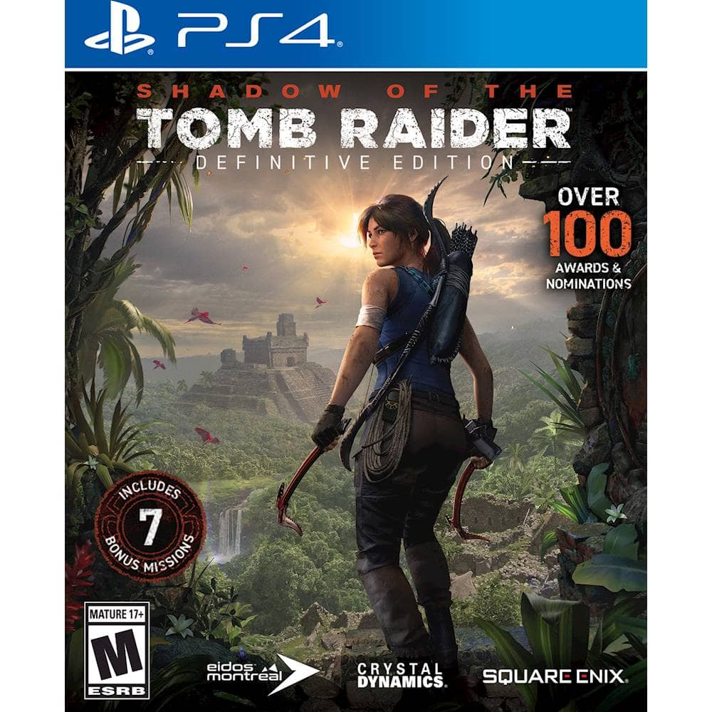 Best Buy has Shadow of the Tomb Raider: Definitive Edition - PlayStation 4 for $24.99