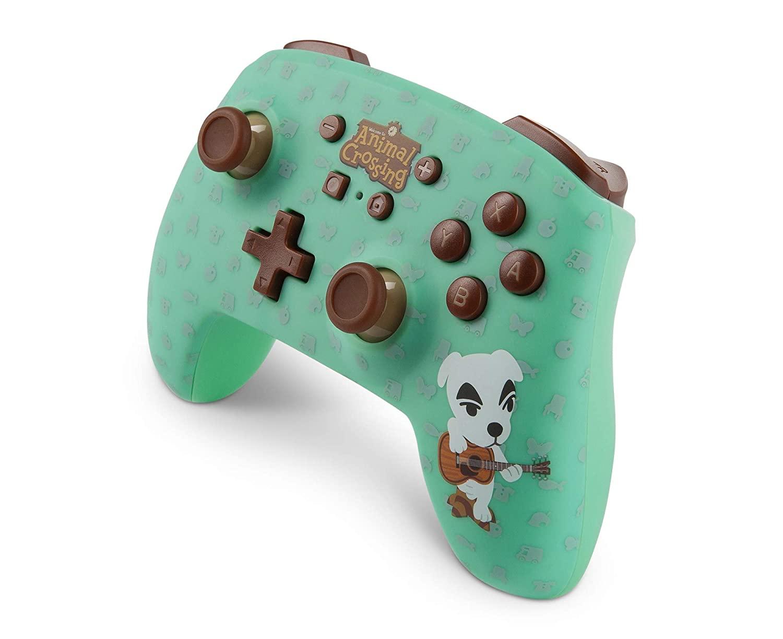 PowerA Enhanced Wireless Controller Animal Crossing: K.Slider back in stock @ Amazon for 49.99