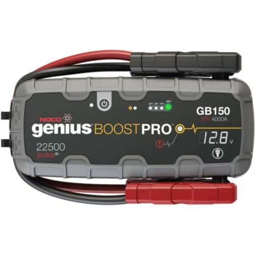 NOCO Genius Boost Pro GB150 4,000 Amp 12V UltraSafe Lithium Jump Starter $210.91