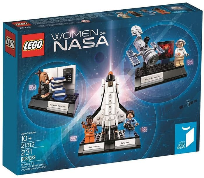 LEGO Ideas Women of NASA 21312 back in stock at barnesandnoble.com free shipping 5 per customer $25