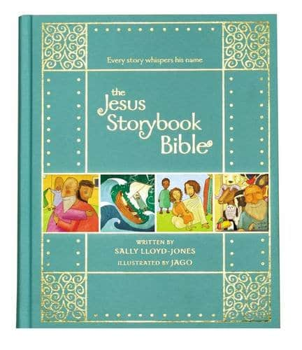Jesus Storybook BIble Gift Edition Hardcover by Sally Lloyd-Jones and Jago $3.94