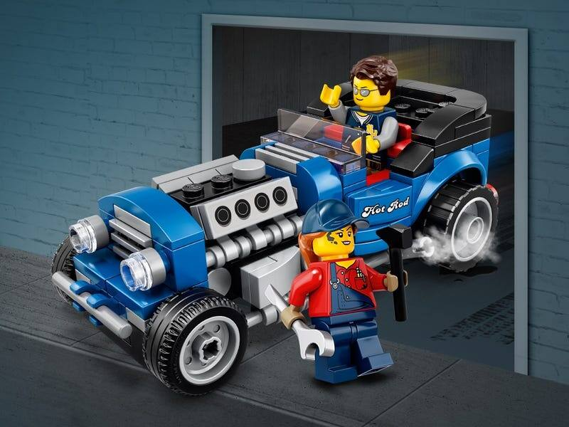 Free Lego promo Promotion: Blue Fury Hotrod hot rod replica with purchase of $85 or more at Lego.com