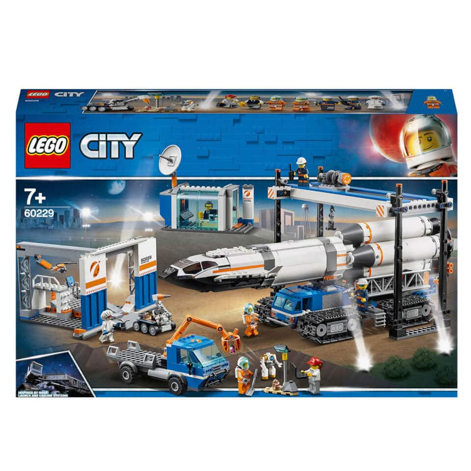 LEGO City: Rocket Assembly and Transport Space Port (60229) just $125 + free shipping at Zavvi