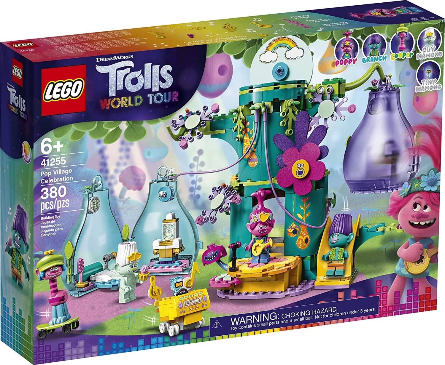 Lego Trolls World Tour Pop Village Celebration (41255) only $35 clearance at Wal-Mart Brick and Mortar YMMV