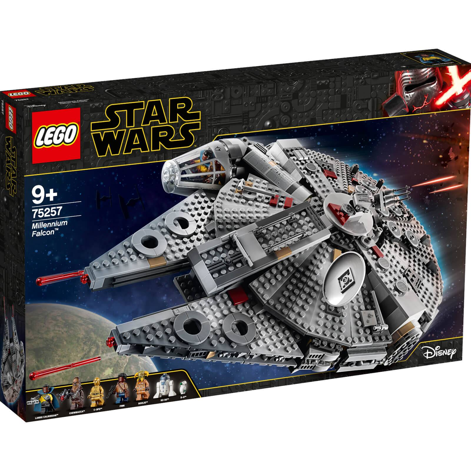 Lego Star Wars Millennium Falcon (75257) only $135 + Free Shipping at Zavvi