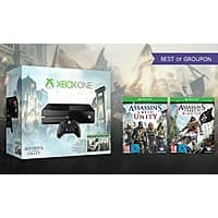 Groupon Deal: Xbox One with Assassin's Creed Unity and Black Flag - $315 AC FS