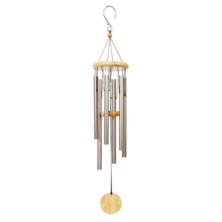 Exhart 30-in Champagne Metal Natural Chime Wind Chime $6 YMMV $6.24