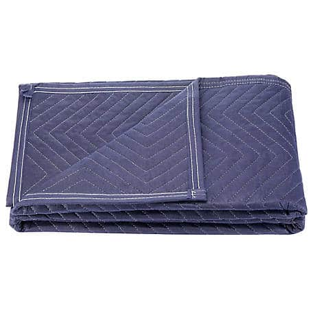 2- Barn Star 72 in. x 45 in. Solid Blue Moving Blanket, 2-Pack $15 for 4 Blankets