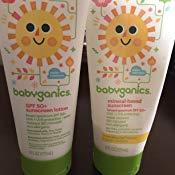 babyganics Sunscreen TWO pack 6oz Tube $14.61 @amazon S&S