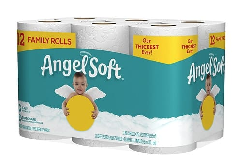 Angel Soft 12 pack $4.50