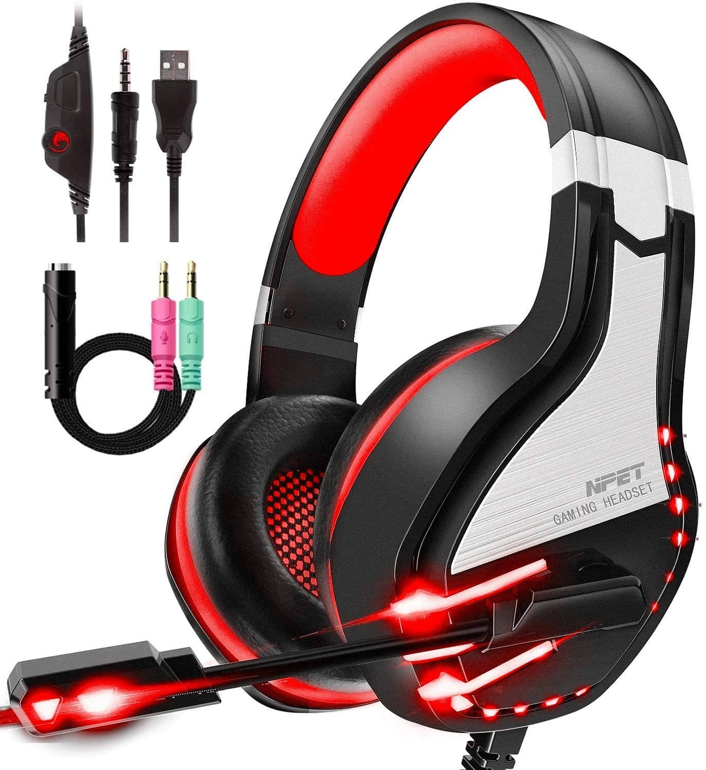HS10 Stereo Gaming Headset for PS4, PC, Xbox One Controller $11.99 $11.99
