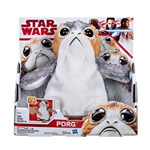 Star Wars: The Last Jedi Porg Electronic Plush $25.00 + Tax Amazon / Walmart