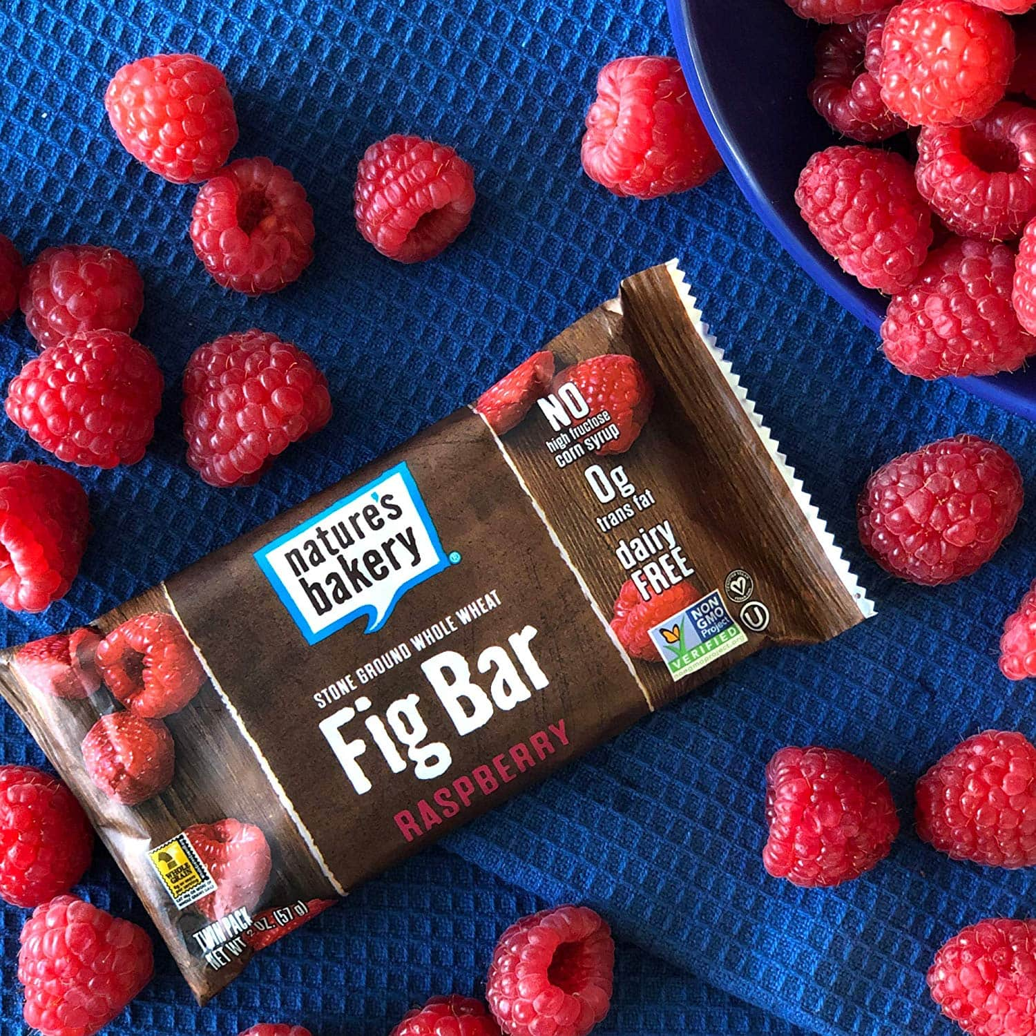 12-Ct Nature's Bakery Whole Wheat Raspberry Fig Bar $4.55 Each w/ S&S + Free S&H