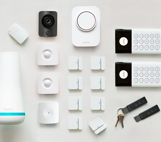 simplisafe the independent 19 piece security alarm system on sale for 398 with amex plus if. Black Bedroom Furniture Sets. Home Design Ideas