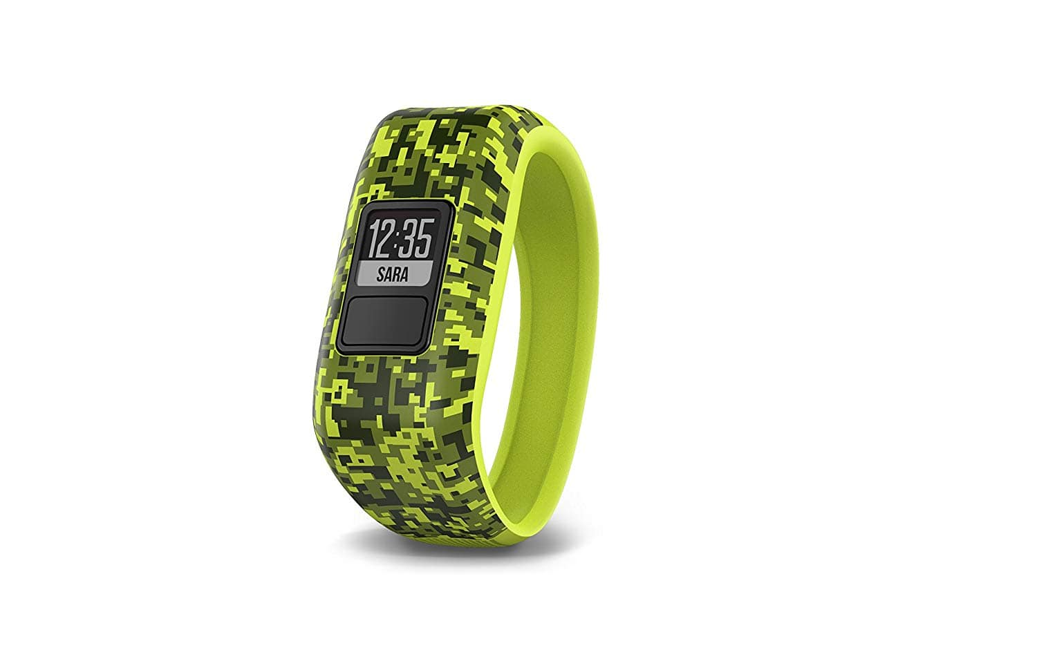 Prime Deal Garmin vivofit JR Digi Camo, Broken Lava, Real Flower (NEW) $49.99