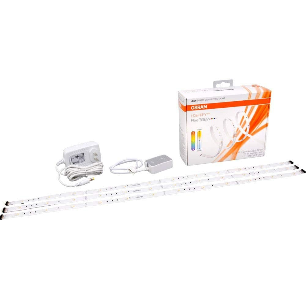 Prime Deal SYLVANIA SMART+ ZigBee LED Strip RGB Starter Kit,  Works with Alexa and Google Assist $35.86, Expansion $22.39, Garden Lights 45.45 and Others