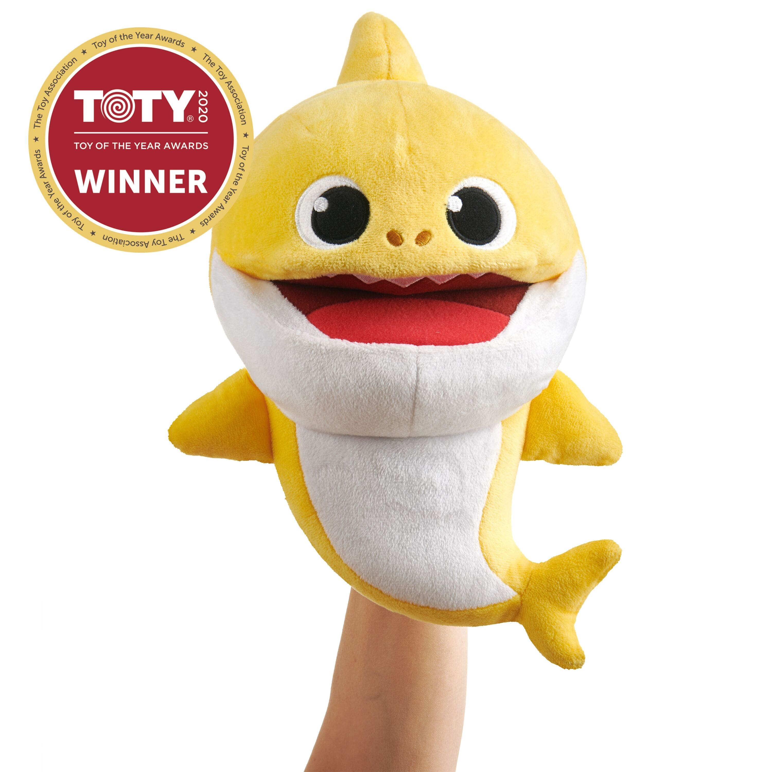 YMMV: Pinkfong Baby Shark Official Song Puppet with Tempo Control - Baby Shark - Interactive Preschool Plush Toy - By WowWee $1.5
