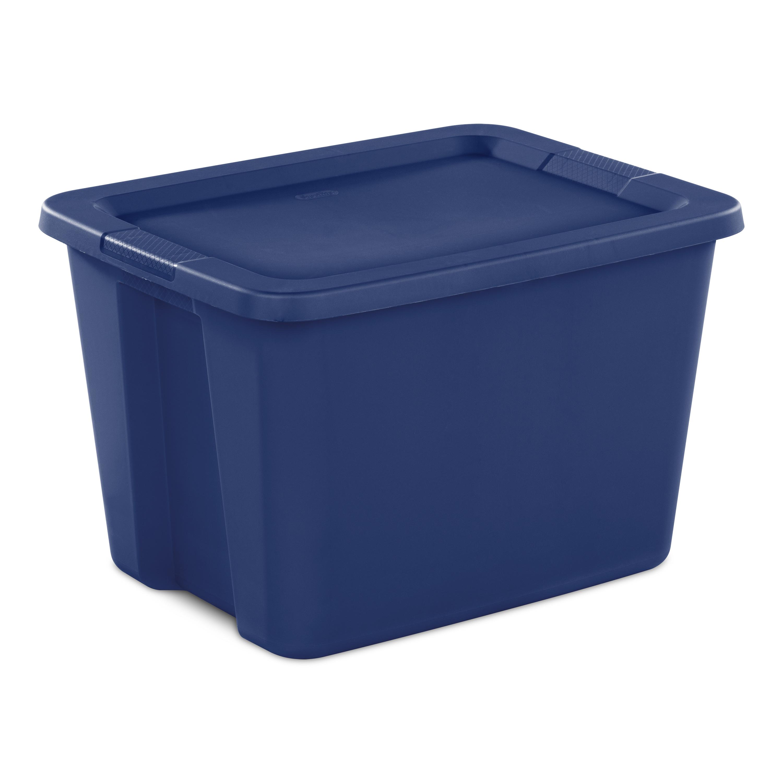 Sterilite 18 Gal. Tote Box - $1.00 @ Walmart B&M YMMV
