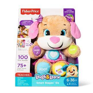 Fisher-Price Laugh and Learn Smart Stages Puppy - Sis $11.19