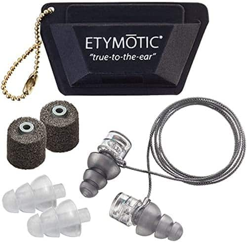 Etymotic Research ER20XS Clear Stem 3.5 mm Jack Wired In-Ear Headphones $7.11