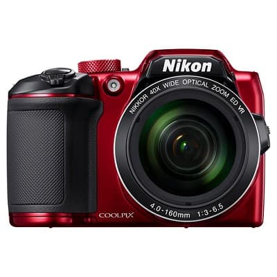 YMMV: Nikon COOLPIX B500 16MP Digital Camera with 40x Optical Zoom - Red for $199.99
