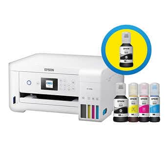 Epson EcoTank 2760 Special Edition All-in-One Printer With Bonus Black Ink | Free Shipping I $219.99