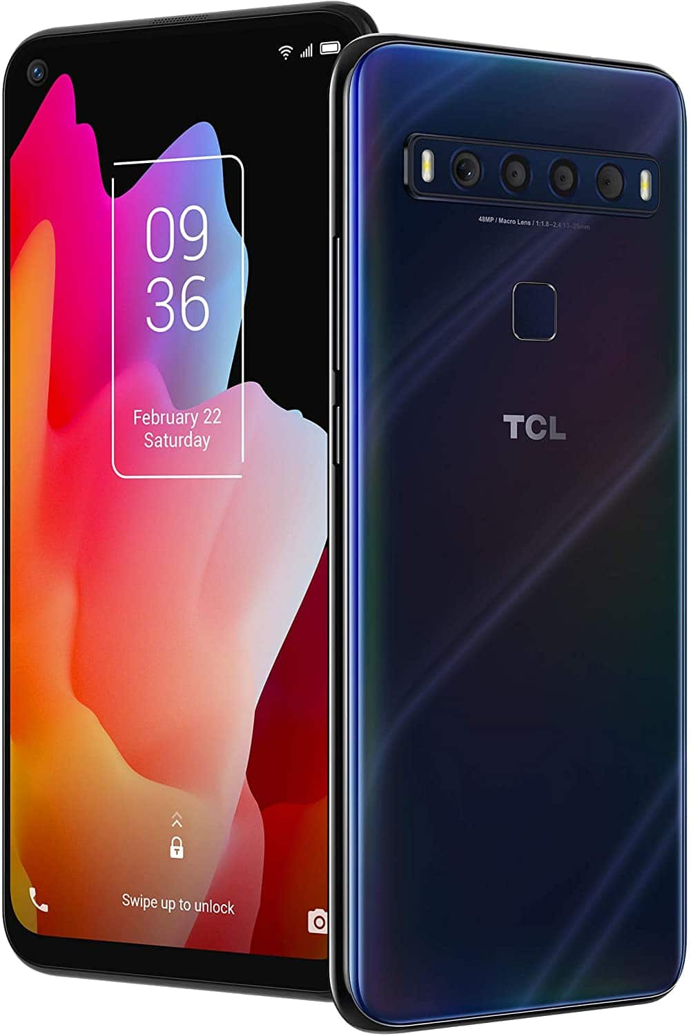"""TCL 10L, Unlocked Android Smartphone with 6.53"""" FHD + LCD Display $174.99 