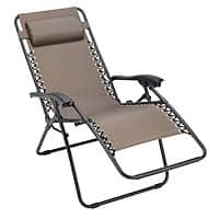Ace Hardware Deal: Zero Gravity style reclining outdoor chair, 6' folding plastic table: $29.99 ea at Ace Hardware starting 5/22 B&M YMMV