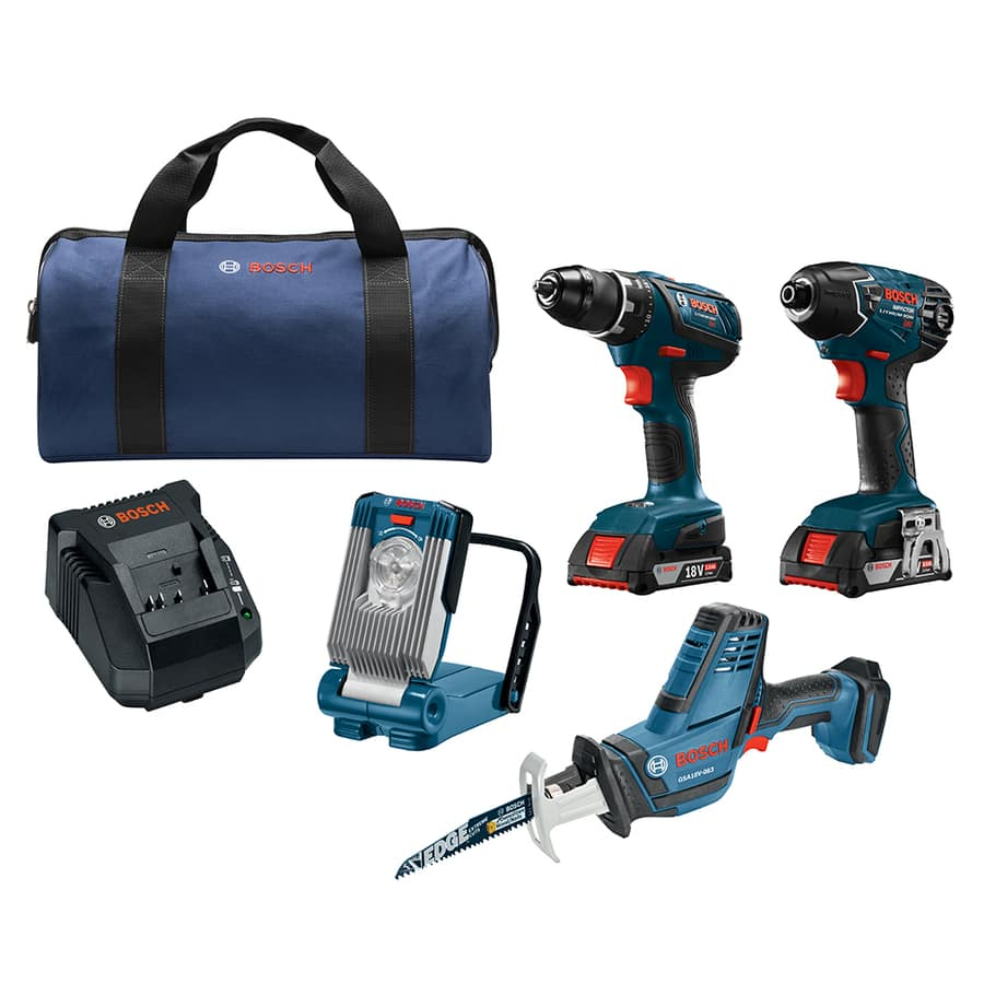 Bosch tools almost 50% off at Lowe's! Drill/impact/light/reciprocating saw kit $165! Ymmv