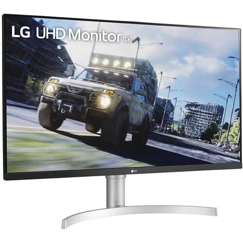 "LG 32UN550-W 32"" 4K 60hz monitor $329.99"