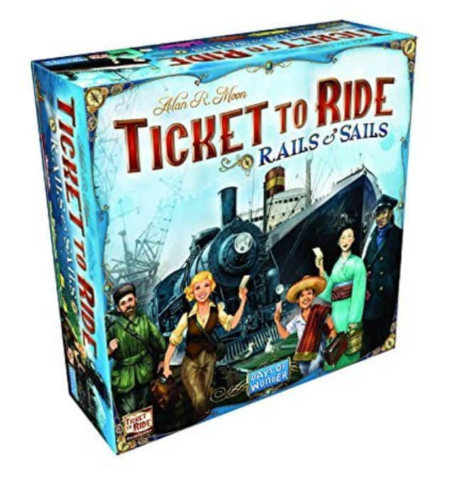 Ticket to Ride: Rails & Sails Board Game $36 + Free Shipping