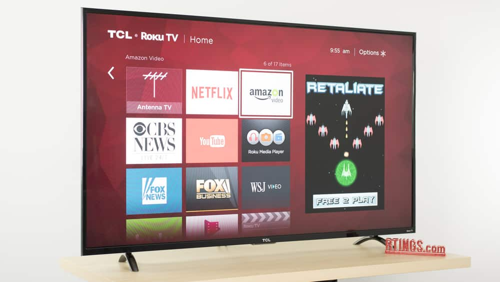 TCL 55P605 = 55P607 for $599 at Best Buy