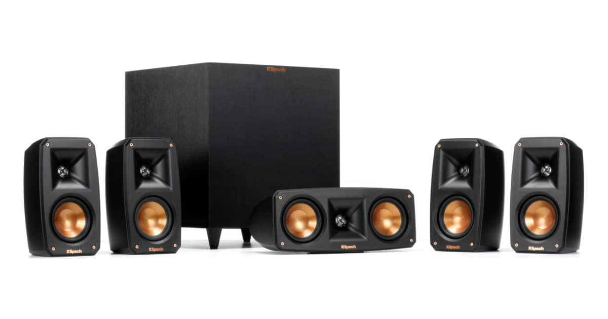 Klipsch Reference Theater Pack 5.1 Channel Surround Sound System - 449.99 + tax - free shipping $449.99