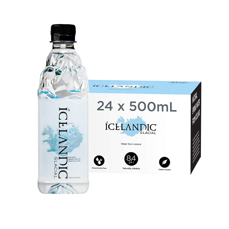 Icelandic Water $20.00 - 16.9FL 24 pack at Amazon