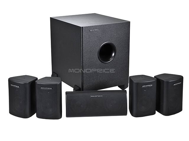 Monoprice 8247 surround sound system $63.08! + shipping