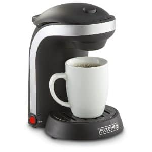Kitchen Selectives One-Cup Coffeemaker w/Mug $10 + Free shipping