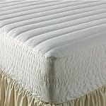 The Big One Microfiber Mattress Pad: Twin $9.50, Full $13, Queen $16, King