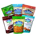 10lb Bags of Blue Diamond Almonds: Natural, Bold Wasabi & Soy Sauce, Roasted & Salted, Smokehouse, Dark Chocolate, or Sea Salt
