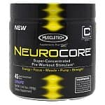 45 Servings of MuscleTech Neurocore Pre-Workout Stimulant (Fruit Punch or Grape)