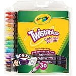 30-count Crayola Twistables Colored Pencils