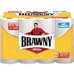 12-pack of Brawny 2-Ply Paper Towels (white)