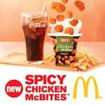 Free McDonald's Spicy Chicken McBites Coupon