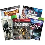 Video Game Sale: Rayman Origins (Xbox 360/PS3/Wii) $10, Crysis 2 (Xbox 360/PS3) $10, Child of Eden (Xbox 360/PS3) $10, InFamous (PS3) $10, Just Dance 3 (Wii)