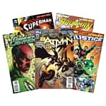 1-Year DC Comic Book Subscriptions: Justice League America $13, Batman $12, Green Lantern $12, Catwoman $13, Superman $13, Aquaman $14