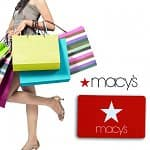 Gift Cards: $25 Macy's Gift Card $12.50, $10 Jamba Juice Gift Card $3, $25 Build-A-Bear Workshop