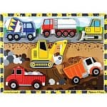 Melissa & Doug Sale: Safari Animals Peg Puzzle $3, Vehicles Sound Blocks $6.50, Stacking Train $8, Wooden Animal Nesting Blocks $9.50