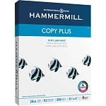 "500-Sheet HammerMill Copy Plus 8.5""x11"" Copy Paper"