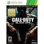 Call of Duty: Black Ops w/ First Strike Content Pack (Xbox 360 or PS3) $20, Call of Duty: Modern Warfare 3 with DLC Collection 1 (Xbox 360)