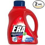 2-pack 50oz Era 2x Ultra HE Active Stainfighter Formula Liquid Detergent