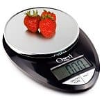 Ozeri Pro Digital Kitchen Food Scale, 1g to 12lbs Capacity (Silver or Black)